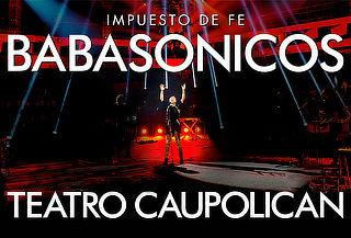 Entrada Platea Alta a Babasónicos, Teatro Caupolicán