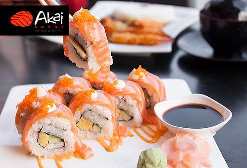 3 Rolls AKAI Sushi, Carmencita Las Condes