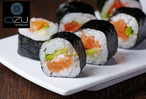 3 Rolls en Ozu Sushi Bellavista. Delivery o Retiro Local