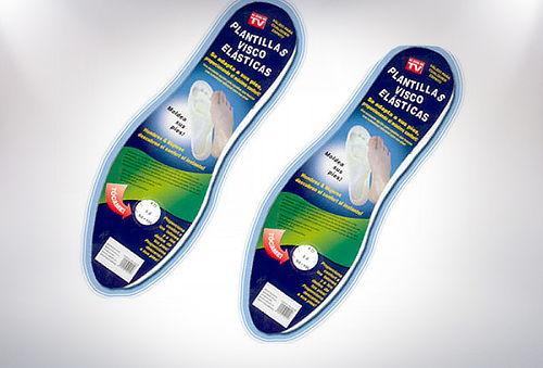 2 Pares Plantillas para Zapatos Visco-Elastica
