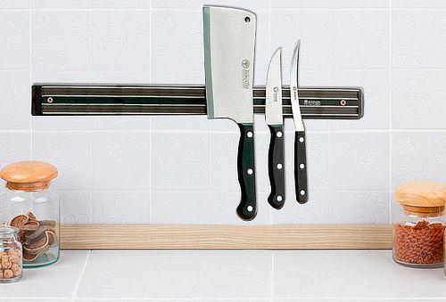 2 Imanes de Cocina para Cuchillos