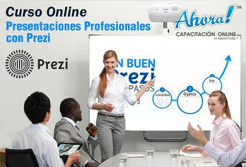 Curso Online de Presentaciones Profesionales en Prezi