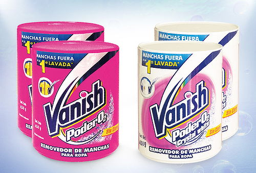 38% Pack 2 Vanish Polvo 450 gr Rosa o White