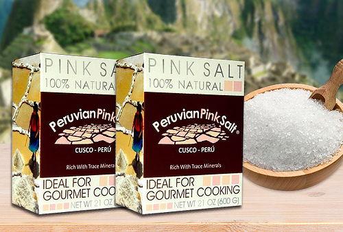 Pack 2 Cajas de Sal de Rosada Gruesa de 600 gr.