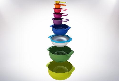 OUTLET - Set 8 Utensilios Colores