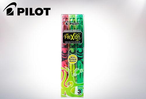 OUTLET - Destacador Pilot Frixion Ligth Pack 3