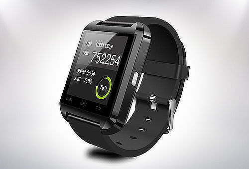 OUTLET - Smart Watch U8 Para Android Y Iphone Blanco
