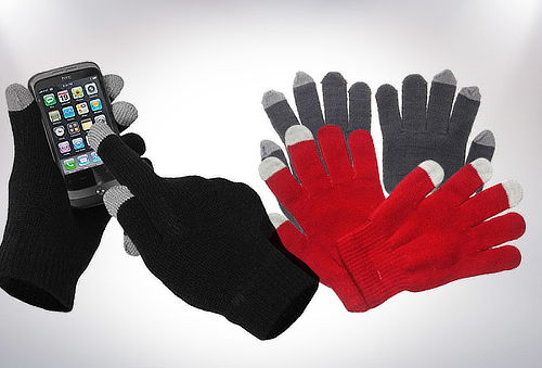 OUTLET - Guantes Touch Iglobes Touch Gris