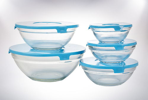 40% Pesa de Cocina + Set de Pocillos de vidrio 5 piezas