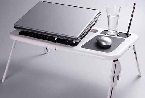 57% Mesa Portátil para Notebook con Ventilador