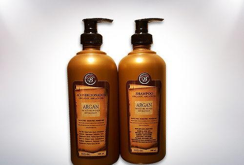 Pack Shampoo + Acondicionador de Argán 500 cc
