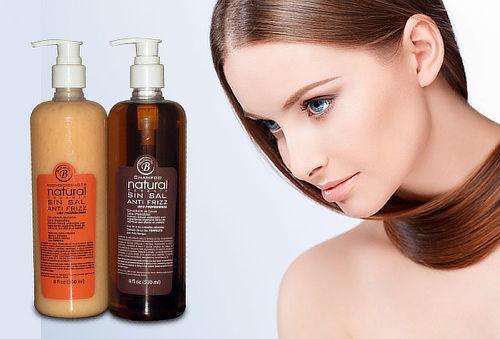 Shampoo y Acondicionador Sin Sal 500 ml