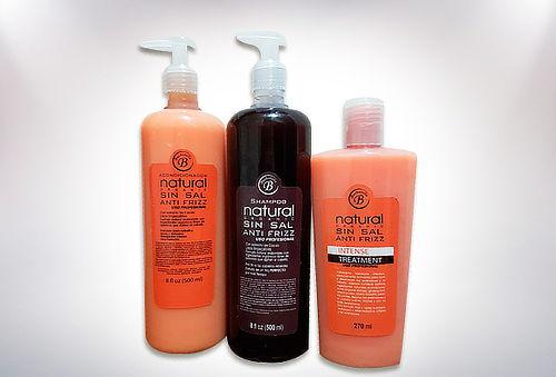 Pack Shampoo + Acondicionador Sin Sal +Tratamiento