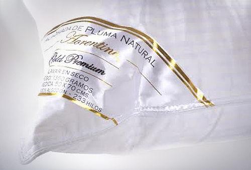 Almohada de Pluma Natural, marca Florentino.