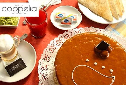 Torta en Coppelia, Tamaño, Sabor y Sucursal a Elección