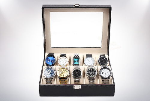 Exclusivo Organizador para 10 Relojes