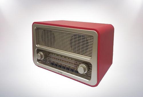 Radio Vintage con Bluetooth y Entrada Usb!