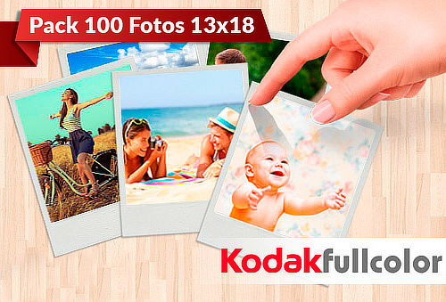 100 Fotos Kodak Full Color 13x18, Sucursal Parque Arauco