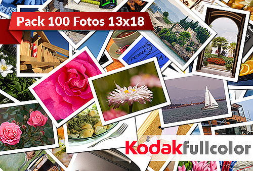 100 Fotos Kodak Full Color 13x18, Sucursal Parque Arauco