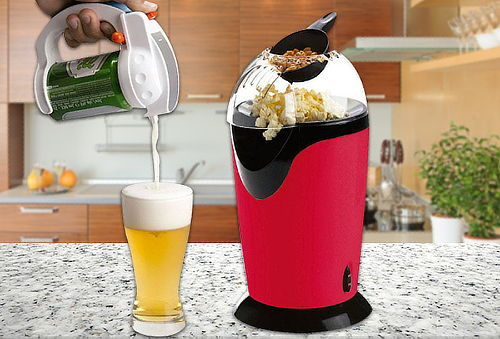 Máquina para Cabritas Blanik + Dispensador de Cerveza