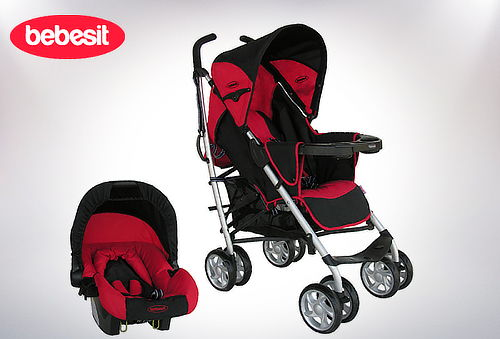 23% Coche Travel System A7008 Bebesit