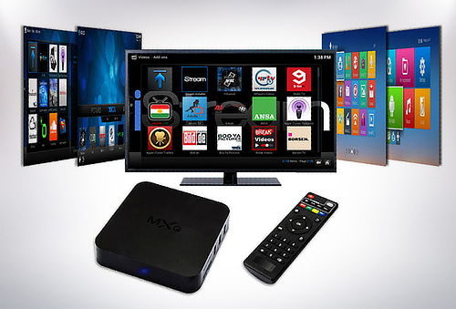 Box Smart Tv MXQ con Control Remoto