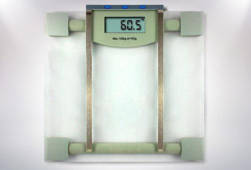 Balanza Digital con Medidor de Agua y Grasa Corporal