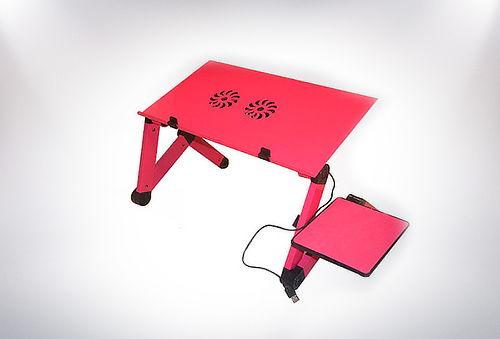 Mesa Notebook Portátil y Antideslizante Fucsia