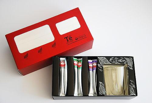 50% Surtido de Té Royal T-Stick + Taza Doble Vidrio