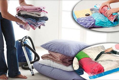 ¡Ahorra espacio! Pack de 3 Bolsas para ropa