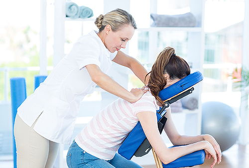 Masaje en silla 20 minutos