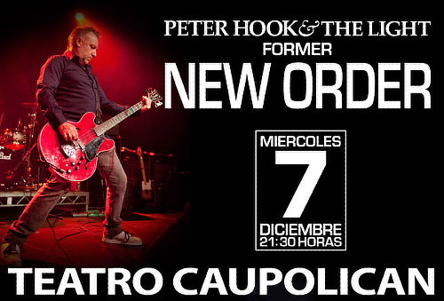 Entrada General a Peter Hook and The Light Teatro Caupolicán