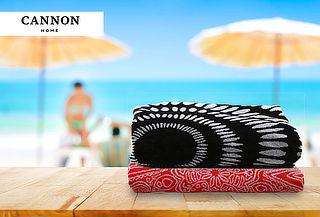Toalla Mandala redonda 100% algodón Cannon elige color
