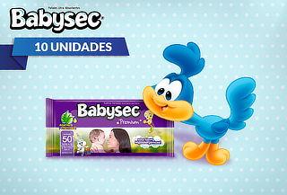 Pack 10 Paquetes de Toallitas Húmedas Babysec Premium!