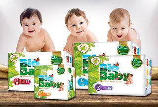 Pañales Biodegradables Biobaby, Tallas a Elección!