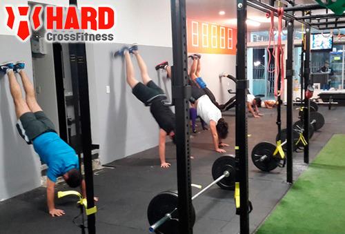 Entrenamiento de Crossfit TRX y Yoga 70%