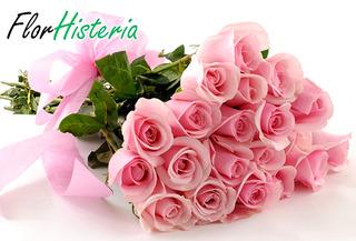 Bouquet de 12 Rosas Tipo Exportacion + Envio 45%