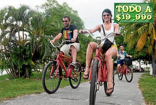 En bicicleta por Cartagena