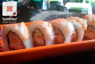 20 Piezas de Sushi mas 1 Entrada Cedritos 50%