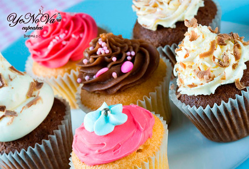 36 Mini Cupcakes Decorados 72%