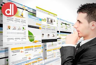 Pagina Web + Hosting + Dominio