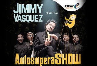 Boleta Vip Comedia  Autosupera Show con Jimmy Vasquez