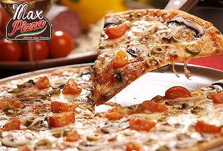 2 Pizzas Triangulares Grandes Sabor a Elección