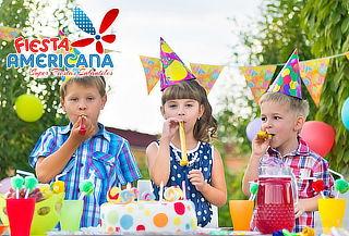 Fiesta con Piscina de Pelotas + Sonido + Fuente Chocolate
