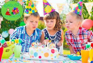 Fiesta Infantil  con Inflable o Piscina de Pelotas