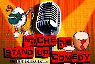 Entrada Doble a Noche de Stand up Comedy con  El Pollo Diaz