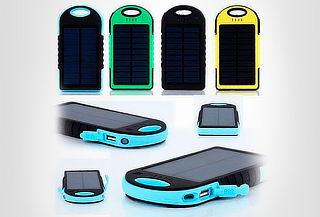 Power Bank Solar 5000mAh