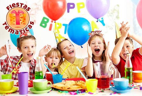 Fiesta Temática Infantil para 20 Niños a Domicilio