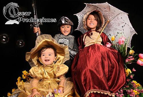 Estudio Fotográfico para Niños + Impresión + Vestuario