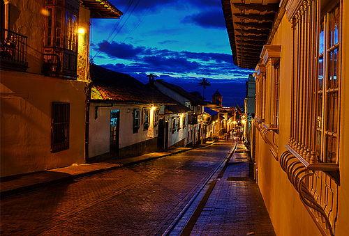 Ghost Tour por la Candelaria en Bogotá